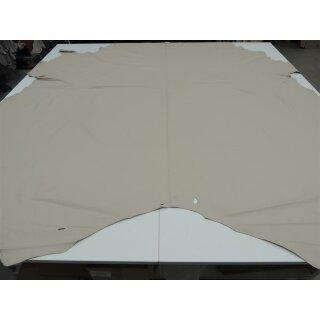 17,91 qm Rindleder Puerto 3 Lederhäute Polsterleder gedecktes Leder 1,1-1,3 beige